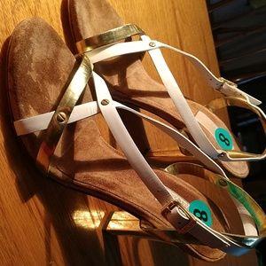 Michael Kors Italian Made Mirrored Heel Sandals